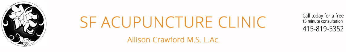 SF Acupuncture Clinic - Allison Crawford MS LAc